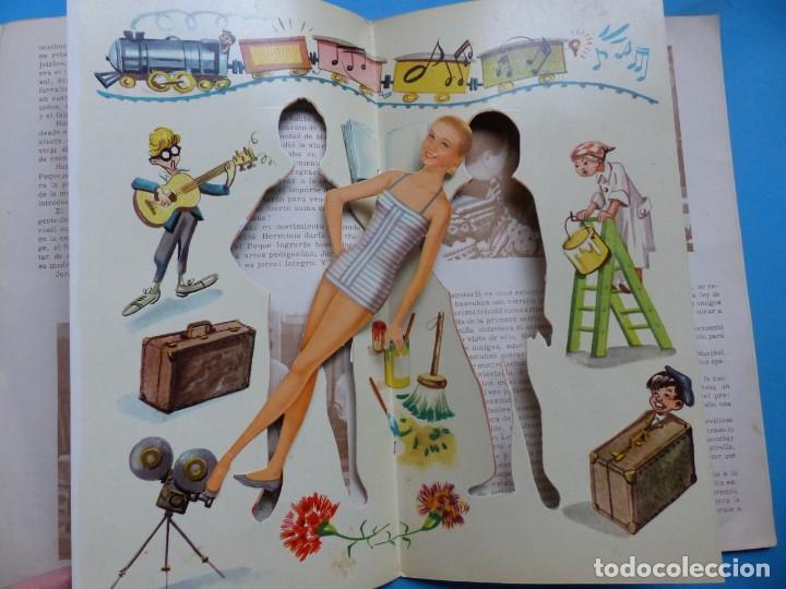 Coleccionismo Recortables: LOS VESTIDOS DE MARISOL DE LA PELICULA HA LLEGADO UN ANGEL - VER DESCRIPCION Y FOTOS - Foto 4 - 192966433