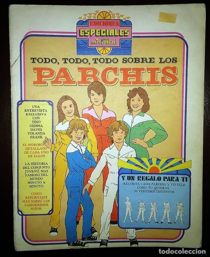 PARCHIS REVISTA MEXICO. REPORTAJE 1980. MUÑECOS RECORTABLES DE PAPEL RARA. (Coleccionismo - Otros recortables)
