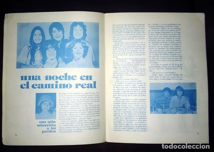Coleccionismo Recortables: PARCHIS revista MEXICO. Reportaje 1980. MUÑECOS RECORTABLES de papel RARA. - Foto 3 - 193377641