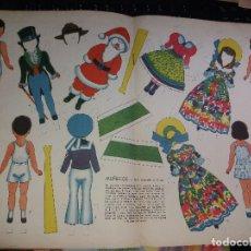 Coleccionismo Recortables: RECORTABLE MUÑECOS - DE LA REVISTA BILLIKEN . AÑO 1949. Lote 194141625