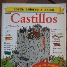 Coleccionismo Recortables: CASTILLO FHER 16 HOJAS PARA ARMAR UN CASTILLO 27,5X21,5 CM. Lote 194397457