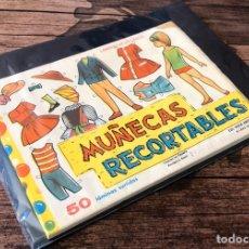 Coleccionismo Recortables: MUÑECAS RECORTABLES,¡COMPLETO!.. Lote 191081427