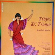 Coleccionismo Recortables: TRAJES DE TRONÍO. Lote 195150855