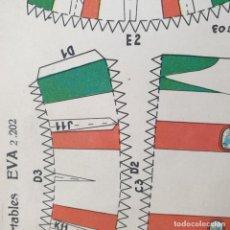 Coleccionismo Recortables: RECORTABLES EVA 2202 2203 2207 2208. Lote 195884906