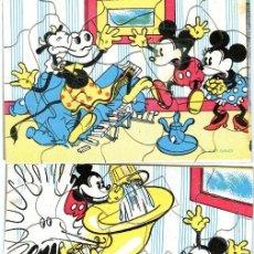 Coleccionismo Recortables: LOTE TRES PUZZLES DE MICKEY Y MOUSE DE TINTES IBERIA. Lote 196094880