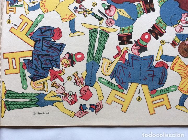 Coleccionismo Recortables: CIRCO INFANTIL ,RECORTABLES LA TIJERA -6 láminas - Foto 3 - 196276688