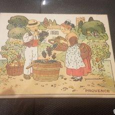 Coleccionismo Recortables: CROMO RECORTABLE FOSFATINA FALIÈRES AÑOS 20 MUY RARO PROVENCE. Lote 196396115