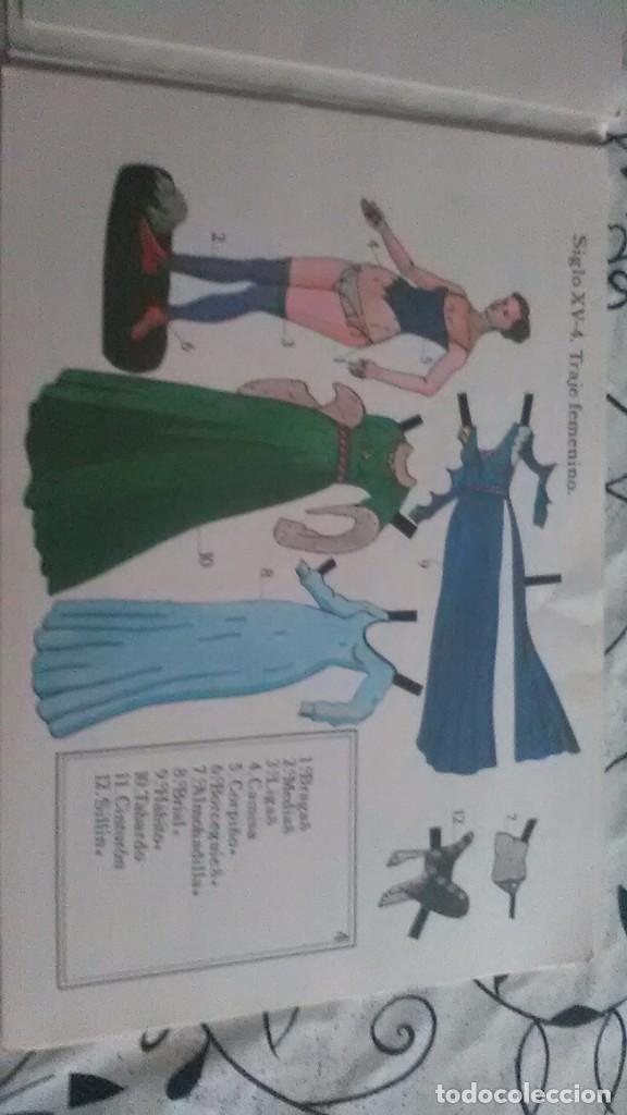 Coleccionismo Recortables: como vestia europa, recortable moda - Foto 2 - 197929861