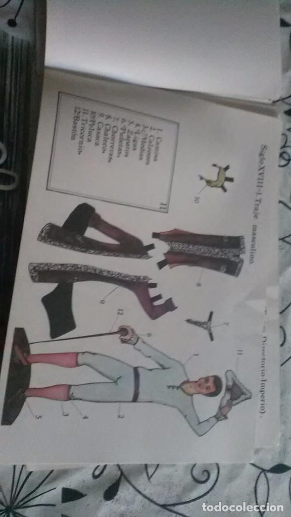 Coleccionismo Recortables: como vestia europa, recortable moda - Foto 4 - 197929861