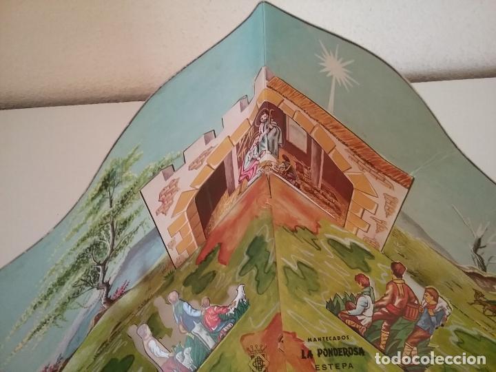 Coleccionismo Recortables: POP UP BELÉN PESEBRE NACIMIENTO DE CARTON TROQUELADO - Foto 5 - 199201552