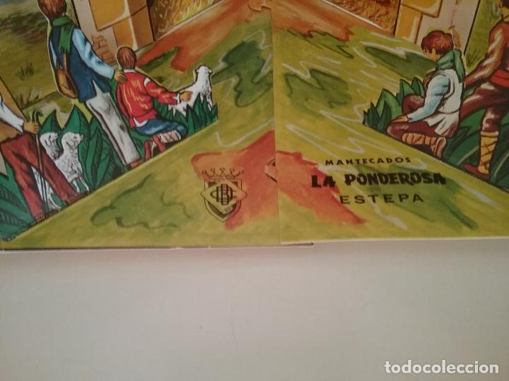 Coleccionismo Recortables: POP UP BELÉN PESEBRE NACIMIENTO DE CARTON TROQUELADO - Foto 6 - 199201552