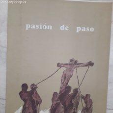 Coleccionismo Recortables: RECORTABLE SEMANA SANTA DE VALLADOLID. PASION DE PASO. NUEVO. AÑO 1993.. Lote 199487122