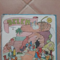 Collectionnisme Images à Découper: ANTIGUO RECORTABLE BELEN MODELO C EDITORIAL ROMA BARCELONA. Lote 201220437