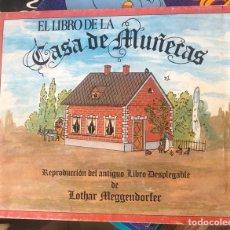 Coleccionismo Recortables: EL LIBRO DE LA CASA DE MUÑECAS, RECORTABLE. Lote 201489835