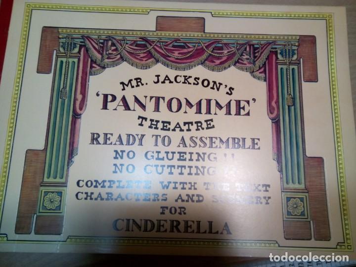 Coleccionismo Recortables: * RECORTABLE TEATRILLO CINDERELLA..PANTOMIME . (RF:P/*) - Foto 2 - 201777313