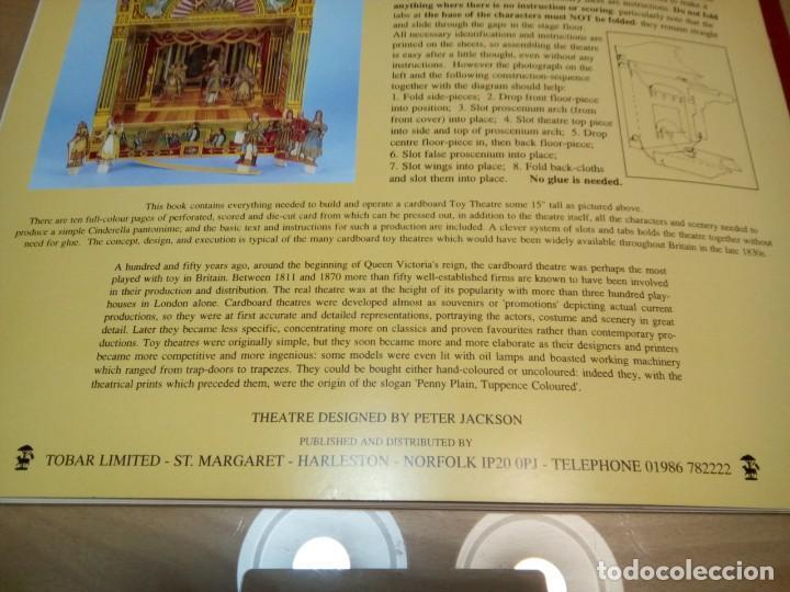 Coleccionismo Recortables: * RECORTABLE TEATRILLO CINDERELLA..PANTOMIME . (RF:P/*) - Foto 13 - 201777313
