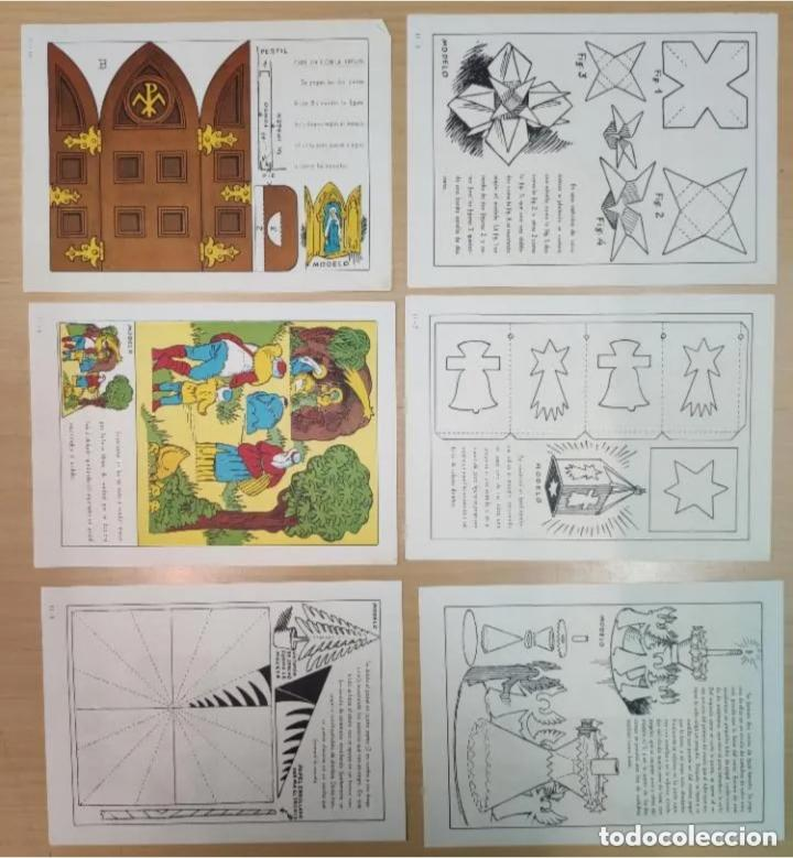 Coleccionismo Recortables: ACTIVIDADES MANUALES, ADORNOS Y TRABAJOS NAVIDEÑOS, Nº11 - Foto 2 - 205005006
