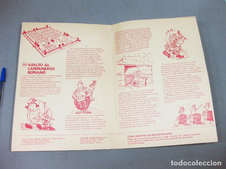 Coleccionismo Recortables: RECORTABLE CALCOMIC ASTERIX Y OBELIX III ASALTO AL CAMPAMENTO ROMANO - KIT-KIT - Foto 2 - 205206540