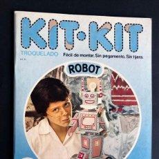 Collectionnisme Images à Découper: ROBOT / KIT KIT Nº 31 / TROQUELADO - PARA MONTAR Y JUGAR /ARGOS VERGARA 1980 /SIN USAR. Lote 205540037