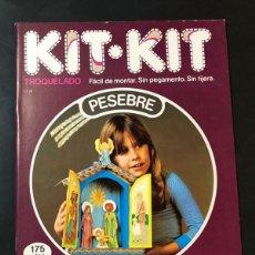 Coleccionismo Recortables: PESEBRE - BELEN / KIT KIT Nº 28 / TROQUELADO - PARA MONTAR Y JUGAR /ARGOS VERGARA 1980 /SIN USAR. Lote 205540225