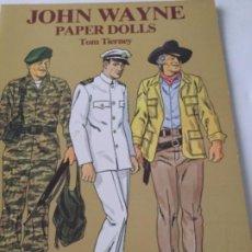 Coleccionismo Recortables: JOHN WAYNE- 16 PÁGINAS- NUEVO COMPLETAMENTE. Lote 205769761