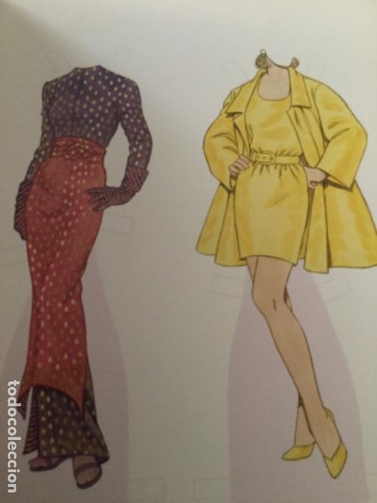 Coleccionismo Recortables: great fashion designs of the nineties- 16 páginas- nuevo completamente - Foto 2 - 205770148