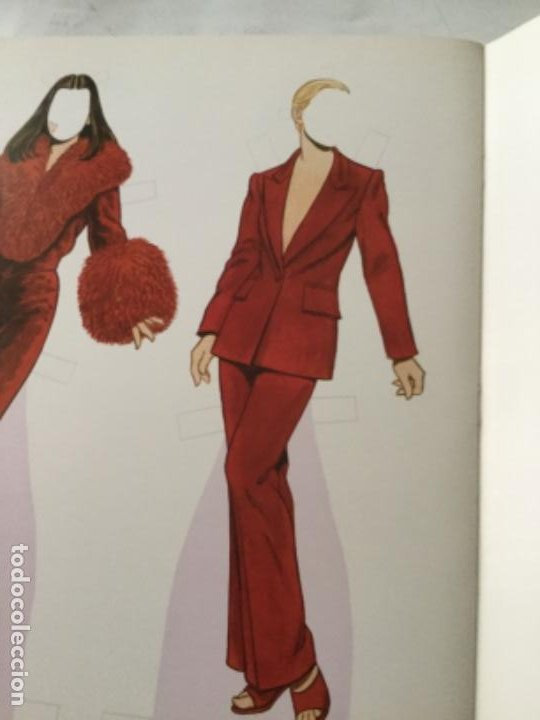 Coleccionismo Recortables: great fashion designs of the nineties- 16 páginas- nuevo completamente - Foto 4 - 205770148