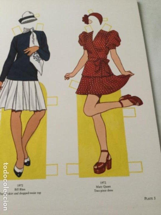 Coleccionismo Recortables: great fashion designs of the seventies- 16 páginas- nuevo completamente - Foto 3 - 205770306