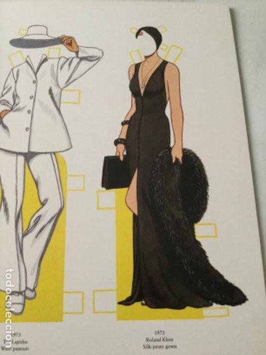 Coleccionismo Recortables: great fashion designs of the seventies- 16 páginas- nuevo completamente - Foto 4 - 205770306