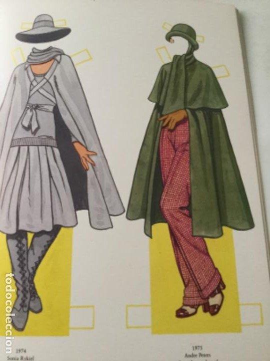 Coleccionismo Recortables: great fashion designs of the seventies- 16 páginas- nuevo completamente - Foto 5 - 205770306