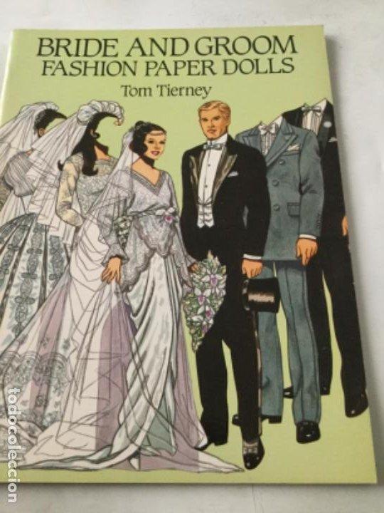 BRIDE AND GROOM FASHION-16 PÁGINAS- NUEVO COMPLETAMENTE (Coleccionismo - Otros recortables)