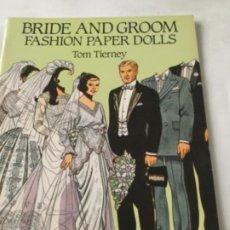 Coleccionismo Recortables: BRIDE AND GROOM FASHION-16 PÁGINAS- NUEVO COMPLETAMENTE. Lote 205770856