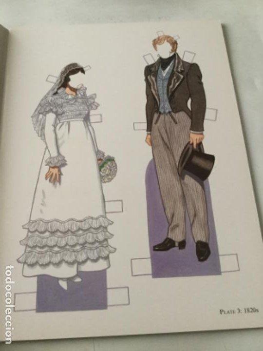 Coleccionismo Recortables: Bride and groom fashion-16 páginas- nuevo completamente - Foto 2 - 205770856