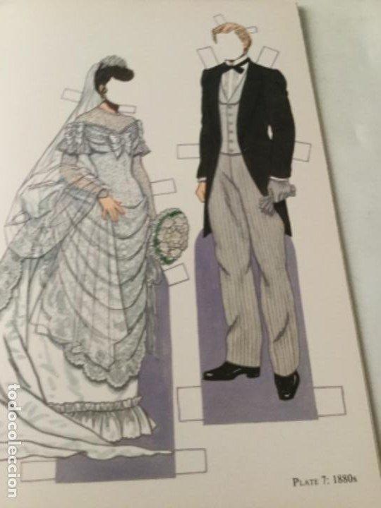 Coleccionismo Recortables: Bride and groom fashion-16 páginas- nuevo completamente - Foto 3 - 205770856