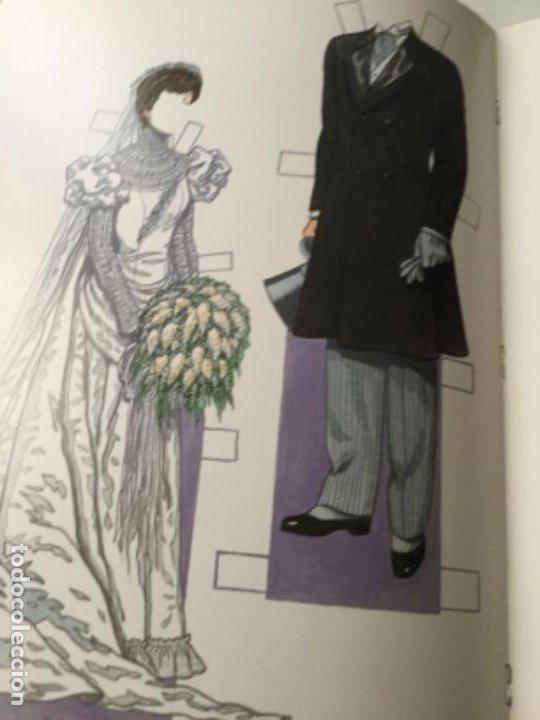 Coleccionismo Recortables: Bride and groom fashion-16 páginas- nuevo completamente - Foto 4 - 205770856