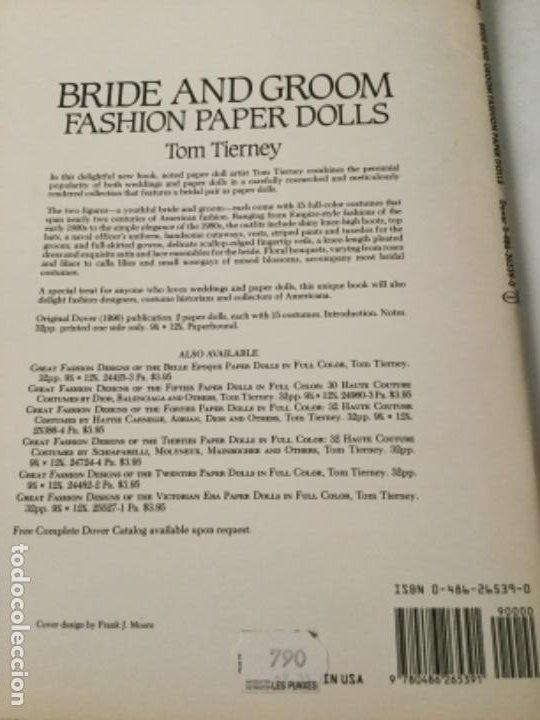 Coleccionismo Recortables: Bride and groom fashion-16 páginas- nuevo completamente - Foto 5 - 205770856