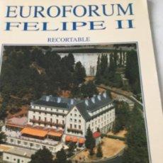 Coleccionismo Recortables: EUROFORUM INFANTES- 1991- NUEVO COMPLETAMENTE. Lote 205771115