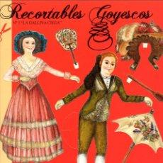 Coleccionismo Recortables: RECORTABLE GOYESCO. LA GALLINA CIEGA. Lote 205867482