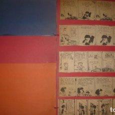 Coleccionismo Recortables: MAFALDA; COLECCIÓN DE VIÑETAS RECORTADAS Y PEGADAS (COLECCIÓN PARTICULAR); 90 TOTAL. Lote 206927272
