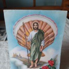 Coleccionismo Recortables: RECIRTABLE SANTIAGO APÓSTOL MATAMOROS A CABALLO CYZ 3181/9. Lote 206993491