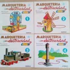 Coleccionismo Recortables: MARQUETERIA Y ELECTRICIDAD - 18 TOMOS COMPLETA - 1984 - SALVATELLA. Lote 207619705