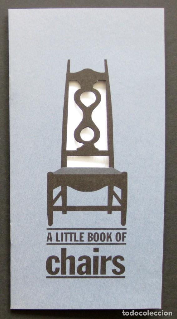 A LITTLE BOOK OF CHAIRS – FOLLETO TROQUELADO (Coleccionismo - Otros recortables)