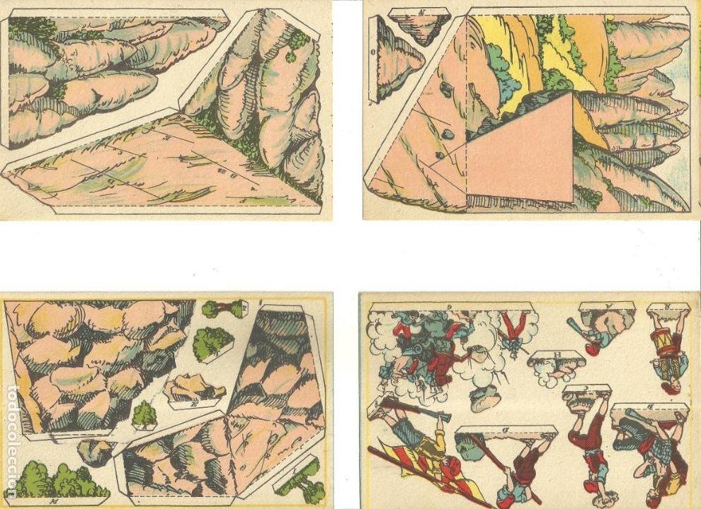 Coleccionismo Recortables: C3.- RECORTABLES-DERROTA DELS FRANCESOS AL BRUC-SOMATEN-GUERRA INDEPENDENCIA-CATALUNYA - Foto 2 - 210094546