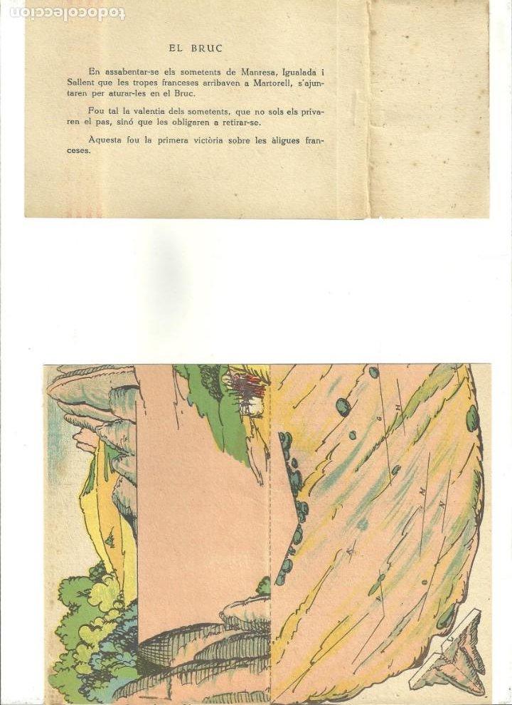 Coleccionismo Recortables: C3.- RECORTABLES-DERROTA DELS FRANCESOS AL BRUC-SOMATEN-GUERRA INDEPENDENCIA-CATALUNYA - Foto 3 - 210094546
