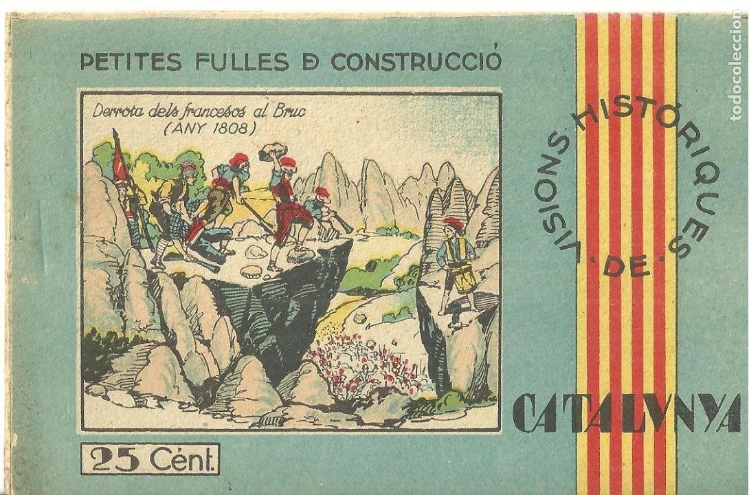 C3.- RECORTABLES-DERROTA DELS FRANCESOS AL BRUC-SOMATEN-GUERRA INDEPENDENCIA-CATALUNYA (Coleccionismo - Otros recortables)