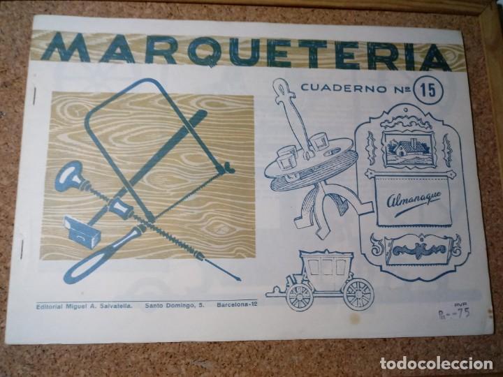 CUADERNO DE MARQUETERIA Nº 15 (Coleccionismo - Otros recortables)