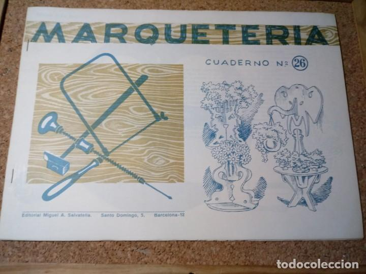 CUADERNO DE MARQUETERIA Nº 26 (Coleccionismo - Otros recortables)