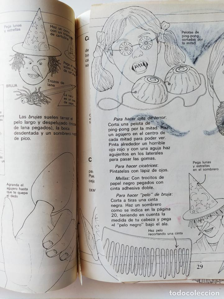 Coleccionismo Recortables: FHER. CORTA, COLOREA Y ARMA: MONSTRUOS + LIBRO LOCO DE MONSTRUOS YA MONTADO Y COLOREADO - 1988 - Foto 7 - 213724546