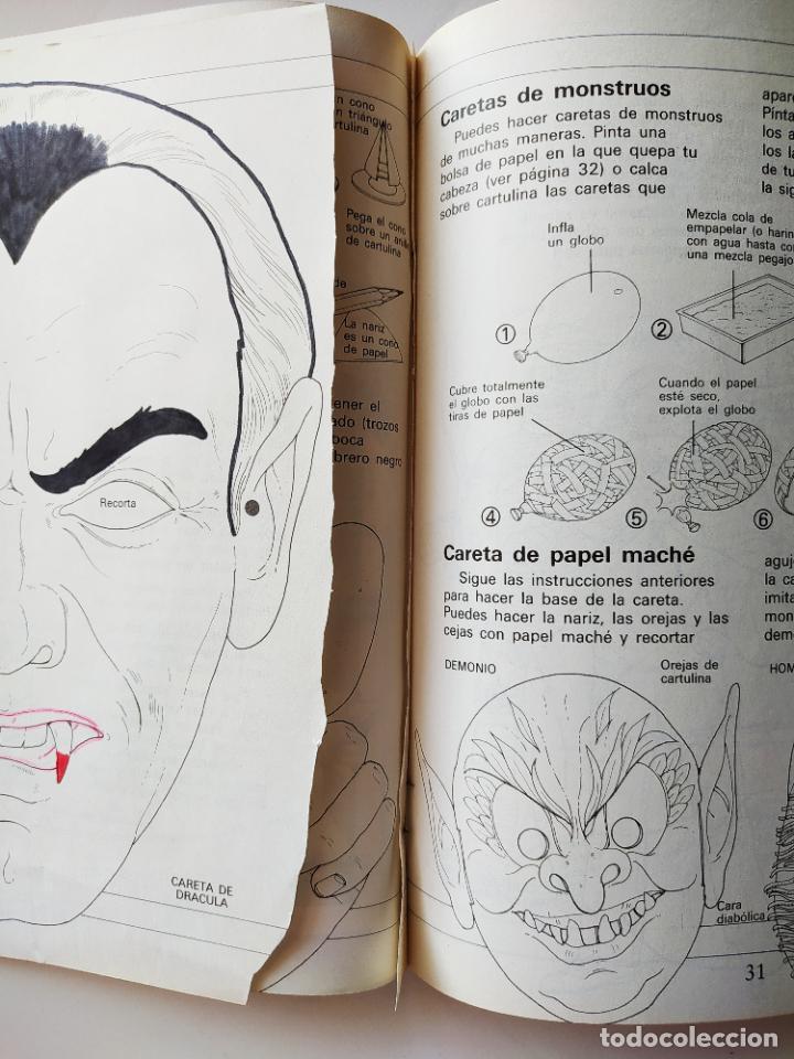 Coleccionismo Recortables: FHER. CORTA, COLOREA Y ARMA: MONSTRUOS + LIBRO LOCO DE MONSTRUOS YA MONTADO Y COLOREADO - 1988 - Foto 9 - 213724546