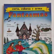 Coleccionismo Recortables: FHER. CORTA, COLOREA Y ARMA: FANTASMAS - 1988 (NO CONTIENE LA CASA ENCANTADA RECORTABLE PARA MONTAR). Lote 213724551